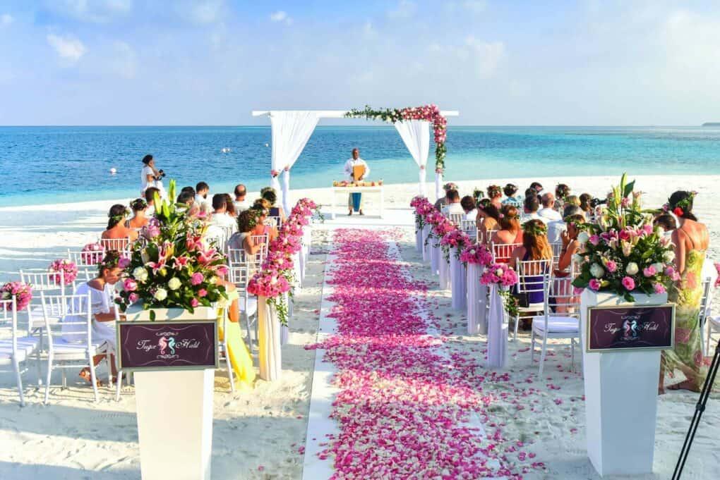 Freie Trauung Location Malediven