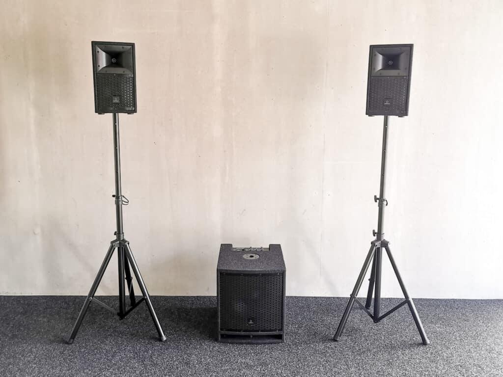 Soundsystem für eine Hochzeit